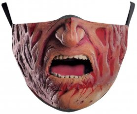 FREDDY KRUEGER face mask - 100% polyester
