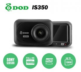"DOD IS350 Autokamera FULL HD 1080P + 2,45 ""displej + WDR a senzor Exmor"