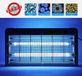 Бактерицидное ультрафиолетовое излучение для дома (лампа 20 Вт) + дезинфекция озоном