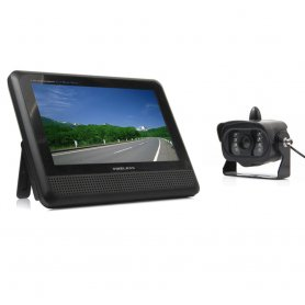 "Wireless Reversing Camera with 15 IR LEDs + 7"" LCD Monitor"