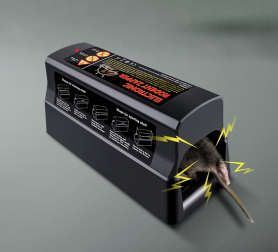 Electric trap for mice and rats (rodents)