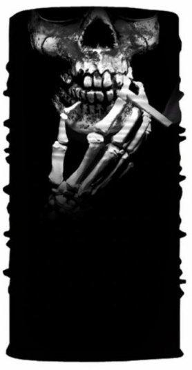 Bufanda protectora (bandana) - CRÁNEO con cigarrillo