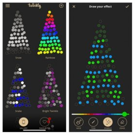 Inteligentna choinka LED 3M - Twinkly Light Tree - 500 szt. RGB + W + BT + Wi-Fi
