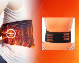 Infrared heating belt for low back and belly