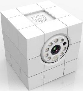 Interiérová Full HD bezpečnostní IP kamera ICARE FHD - 8 IR LED s nouzovým dálkovým alarmem a detekcí obličeje