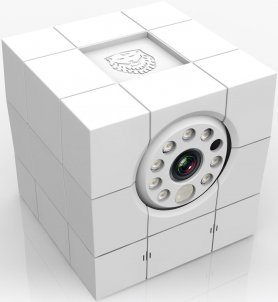Indoor Full HD IP Security Kamera iCare FHD - 8 IR LEDs wih Notfall Fernbedienung und Gesichtserkennung