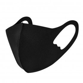 Children Face Mask NANO black (97% polyester + 3%spandex)
