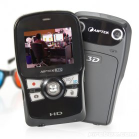 3D Camcorder Aiptek HD - Your unique 3D shots