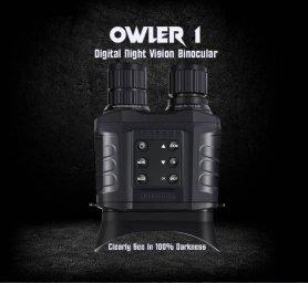 Digitalni dalekozor za noćni vid do 500m / 3000m dnevno - 20x optički + 4x digitalni zum s fotoaparatom