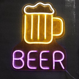Neon beer signs - LED advertisement