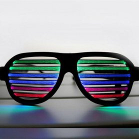 LED-Lichtgläser - blinkend nach Musik