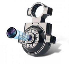 กล้องจอดรถ HD พร้อมขายึด + 11 IR LED + (การป้องกัน IP68)