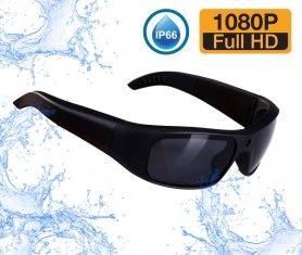 Spy -briller kamera vandtæt (solrige UV -briller) med FULL HD + 16 GB hukommelse
