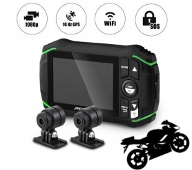 Motorcycle camera - DOD KSB500 Jakiro dual camera set with FULL HD resolution + WiFi