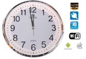 Wall Clock wifi camera FULL HD + Motion detection