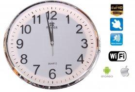 Horloge murale avec WIFI caméra FULL HD + la détection de mouvement