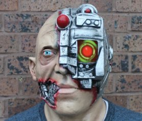 Morph maszkok - cyborg