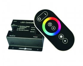 RGB color remote control for silicone LED RGB light strip