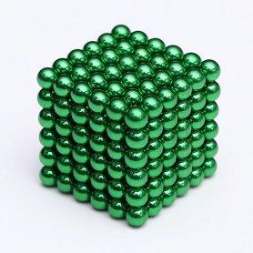 Магнитные шарики 5мм neocube - зеленые