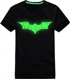 T-shirt fluorescent - Batman
