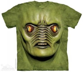 Mountain T-shirt - Green monster