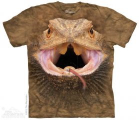 Eco T-shirt - lézard barbu