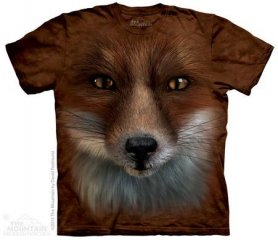 Motivo animale 3D - Fox