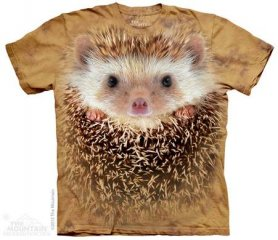 Shirt animaux 3D - Hérisson