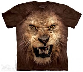 Motivo animale 3D - Roaring Lion