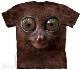 3D hallo-Tech-shirt - Lemur