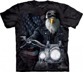 Öko-T-Shirt - Eagle Biker