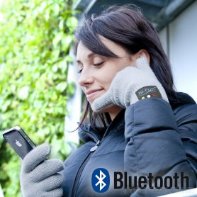Bluetooth gloves - a phone call through Hi Fun gloves