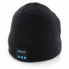 Mp3 hat with bluetooth