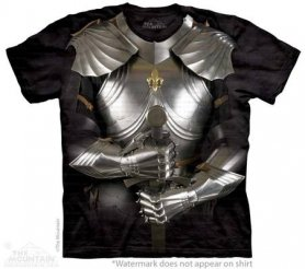 3D Salut-tech shirt - Armure Chevalier