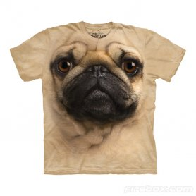 Hi-tech T-shirt - motif Mops