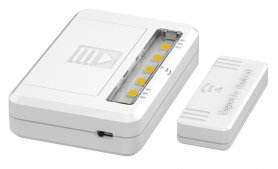 LED lights into the cabinet 2 pack + magnetic sensor - 2x 1,5V AAA batteries