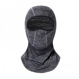 Passamontagna per protezione del viso (maschera per il viso) - colore grigio
