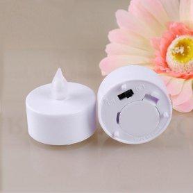 Акумулятори свічки світлодіодна з прохолодним білим світлом