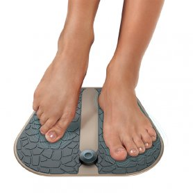 EMS feet massager - stimulating calf and legs muscles