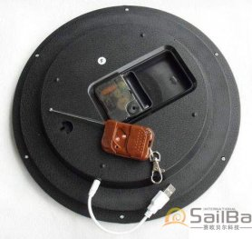 Zidni sat Kamera s detekcijom pokreta
