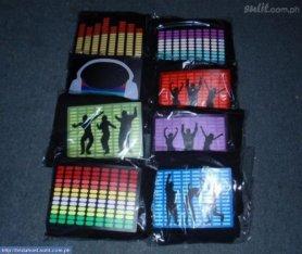 Custom - LED Shirts 100 pièces