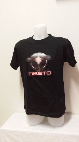 Tiesto - LED T-shirt