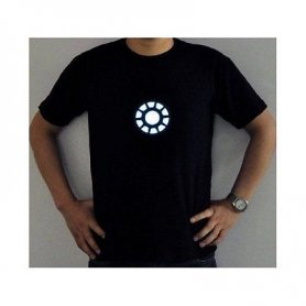 Ironman - T-shirt LED