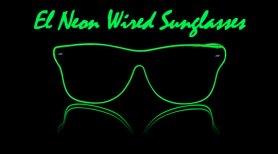 Occhiali Neon Way Ferrer stile - Verde