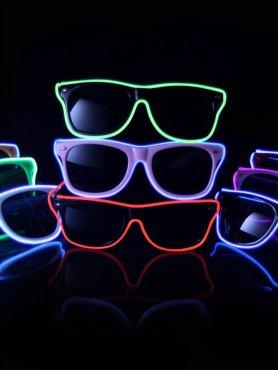براقة نظارات بطريقة فيرير - أحمر