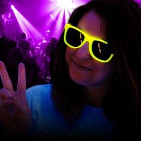 LED γυαλιά Way Ferrer στυλ - Κίτρινο