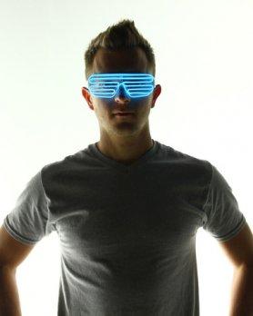 Óculos com luz - Azul