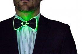 Villog a férfiak csokornyakkendő - Zöld