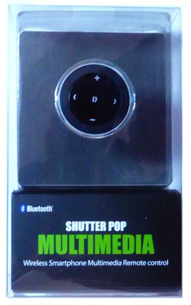 POP Shutter - botón para móviles multimedia (foto + música)