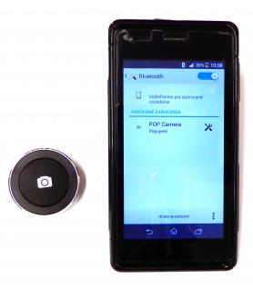 Затвор POP - кнопка фото для мобільних телефонів